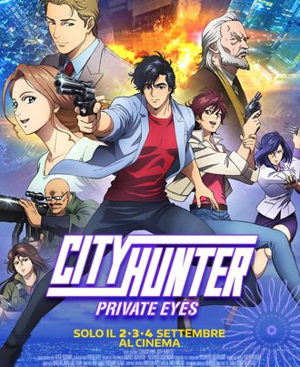 City Hunter Private Eyes | Al Cinema | 2-4 Settembre | Trailer