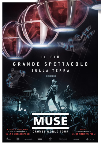 Muse Drones World Tour | Al Cinema